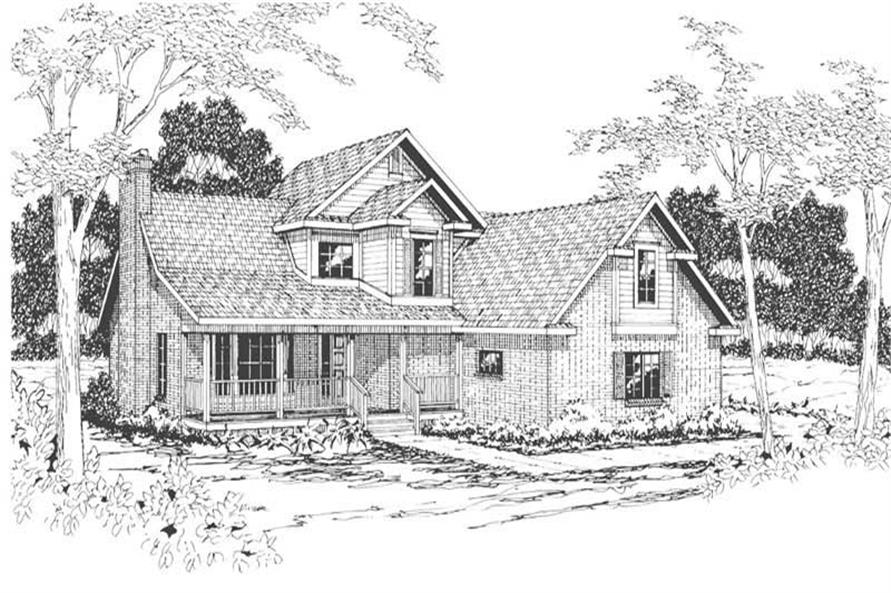 Main image for house plan # 3085