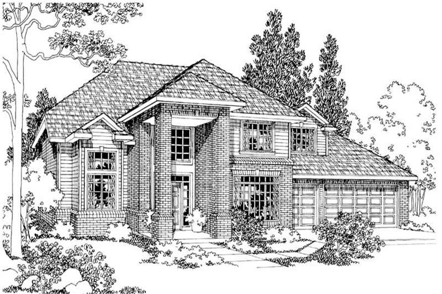 Main image for house plan # 3072