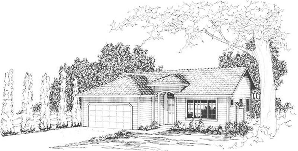 Main image for house plan # 3091