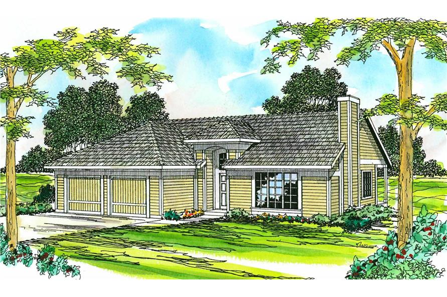 Main image for house plan # 3092