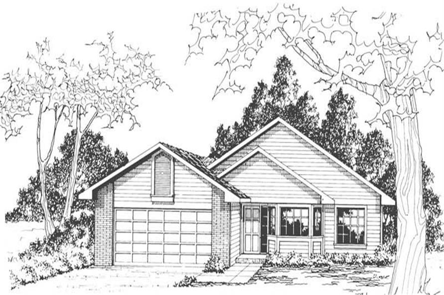 Home Plan Other Image of this 3-Bedroom,1415 Sq Ft Plan -108-1418