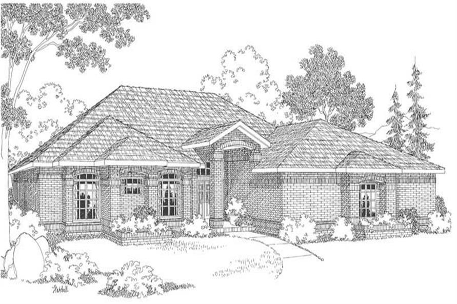 Main image for house plan # 3094