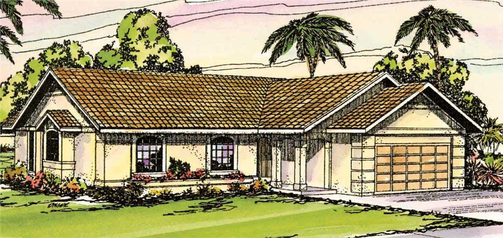 Main image for house plan # 3136