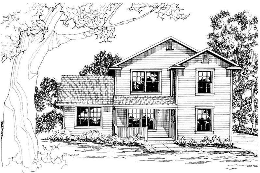 Main image for house plan # 3052