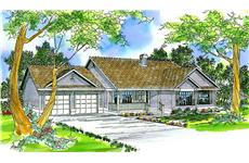 Main image for house plan # 3053