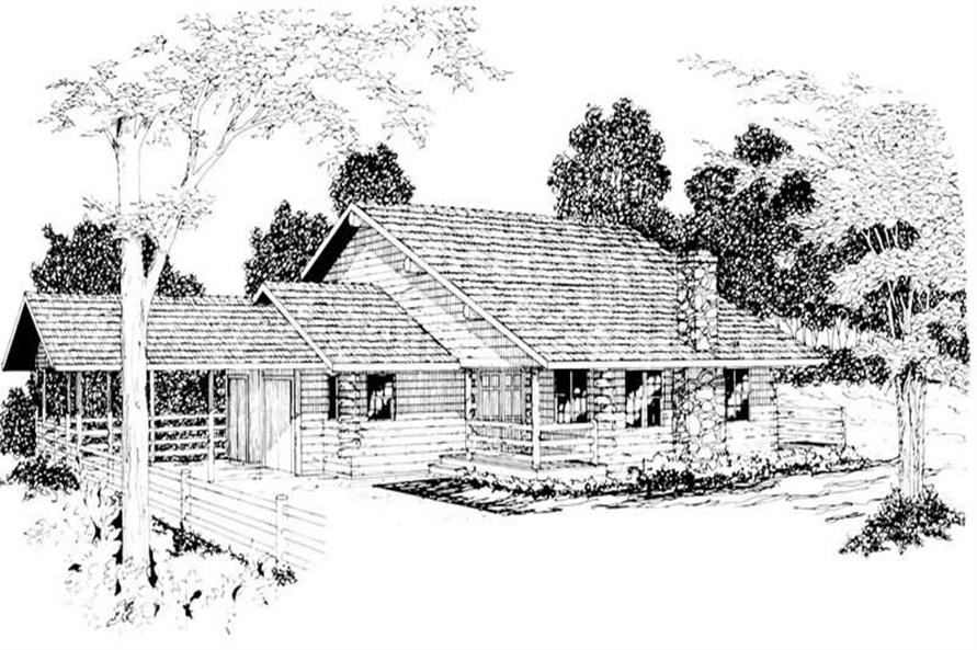 Main image for house plan # 3056
