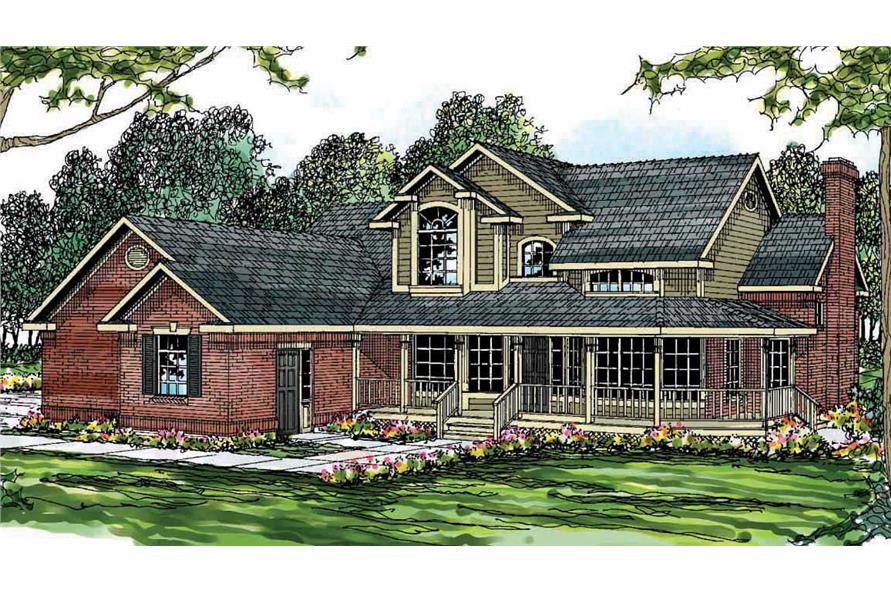 Main image for house plan # 3099