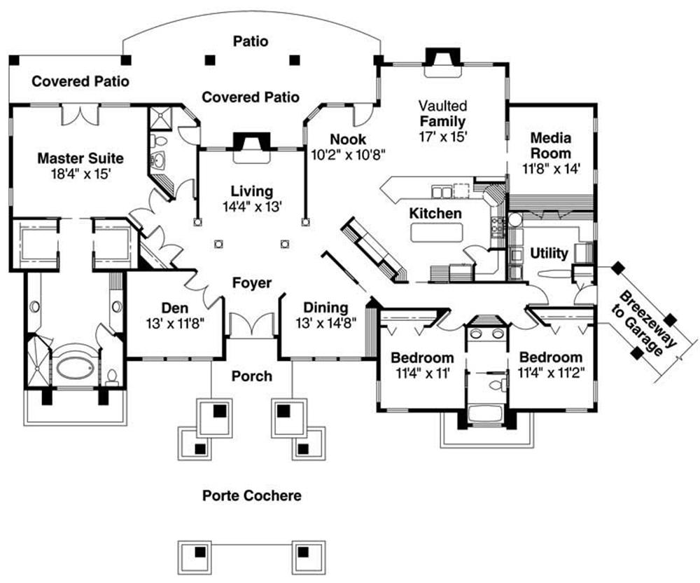 Open Ranch Floor Plans Traditional as well Nice Houses Plans Pictures further Modern Craftsman Floor Plans likewise The Courtyard House 3 as well House Plans With Central Laundry Room. on mid century modern ranch house plans