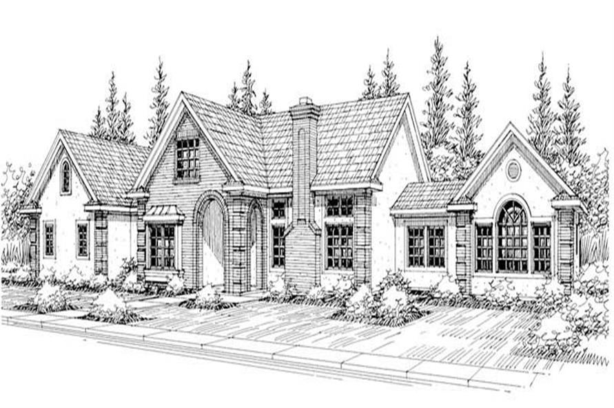 Main image for house plan # 3063