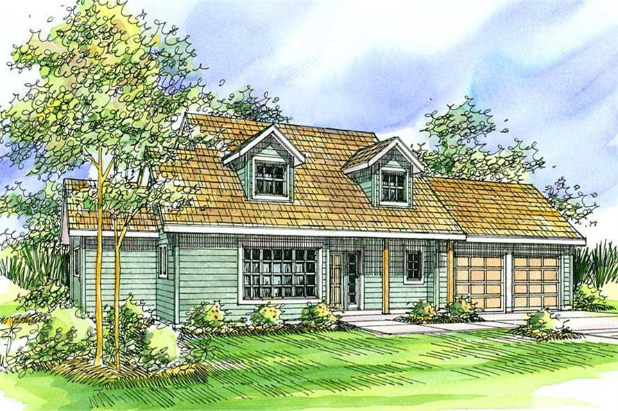 Main image for house plan # 3064