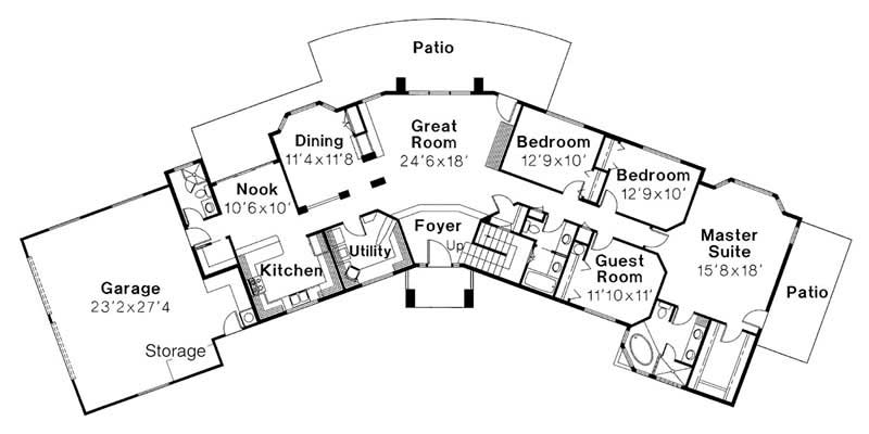 First Floor Floor Plan for Estefan