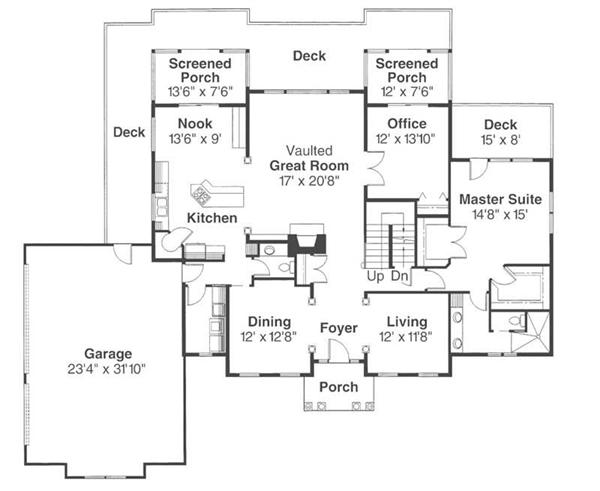 First Floor Floor Plan for Cobleskill