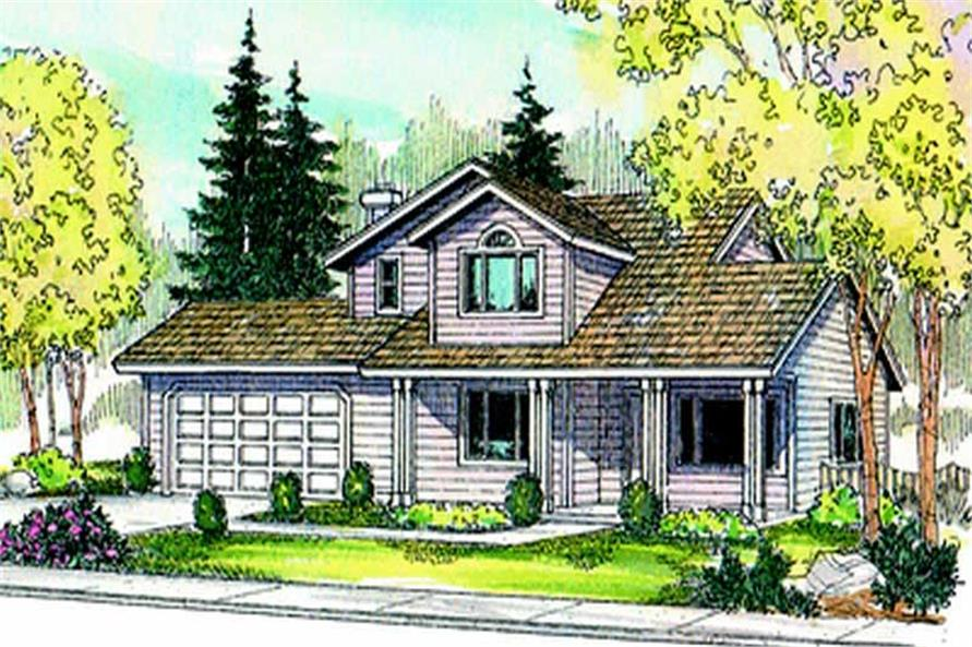 Main image for house plan # 8011