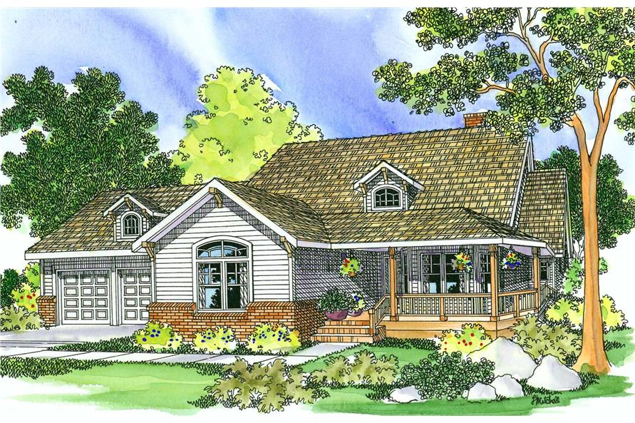 Main image for house plan # 3132