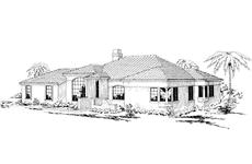 Main image for house plan # 3140