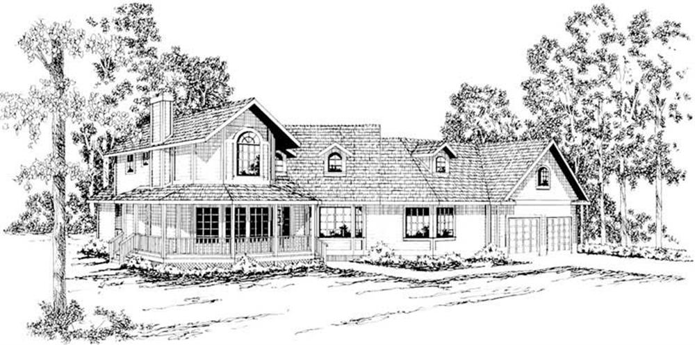 Main image for house plan # 2875