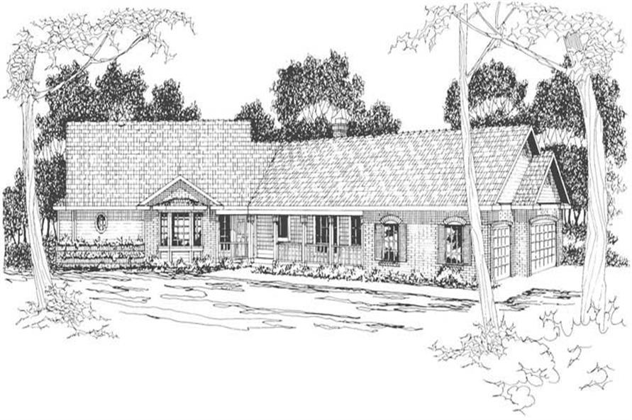 Main image for house plan # 3104