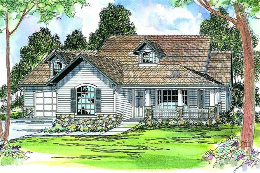 Main image for house plan # 3106