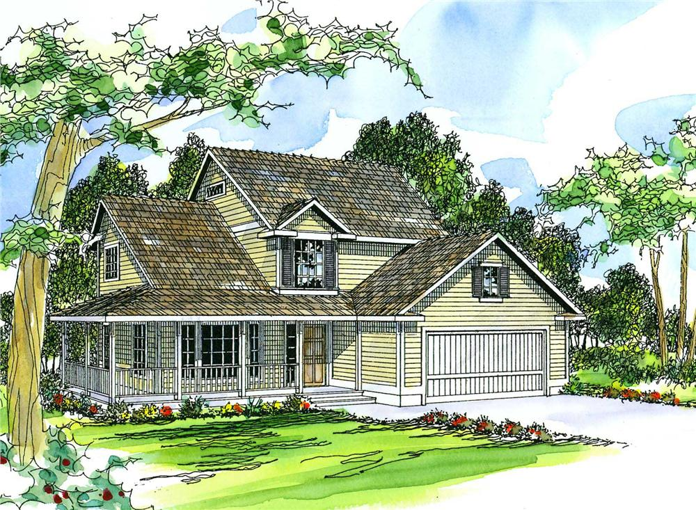 Main image for house plan # 3107