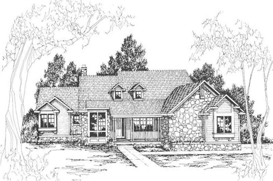 Main image for house plan # 3112