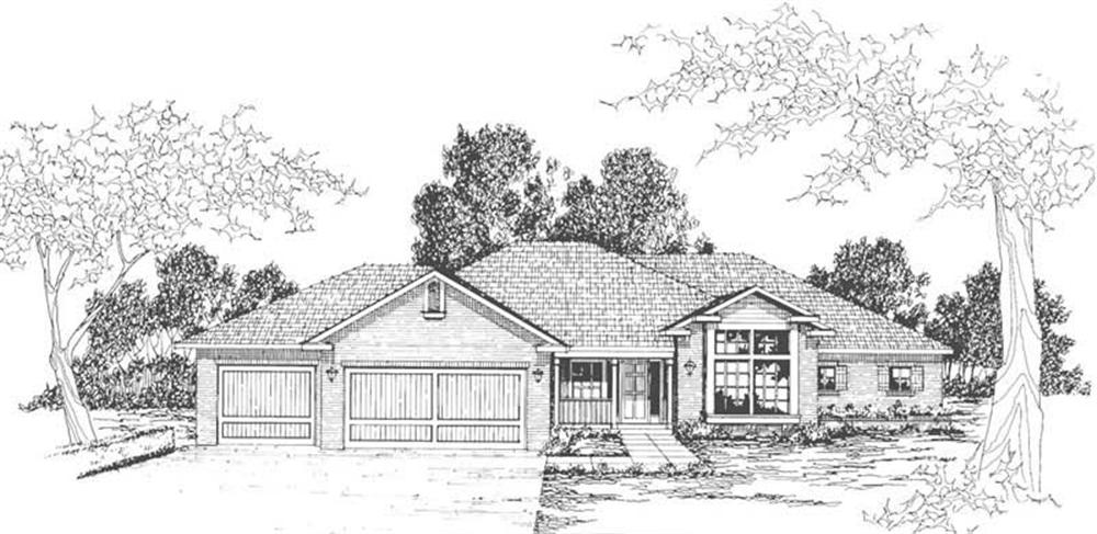 Main image for house plan # 3113