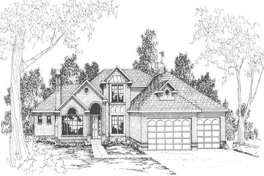 Main image for house plan # 3114