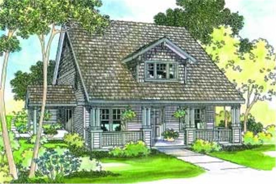 Main image for house plan # 3116