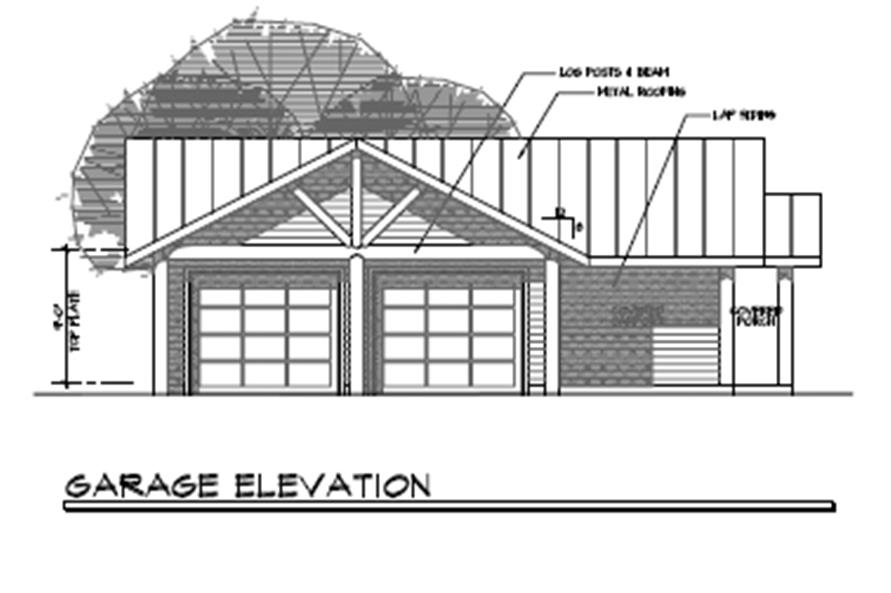 Home Plan Other Image of this 3-Bedroom,1735 Sq Ft Plan -108-1494