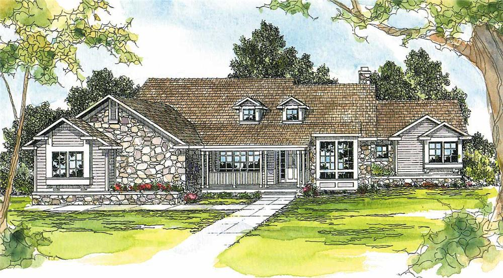 Main image for house plan # 3118