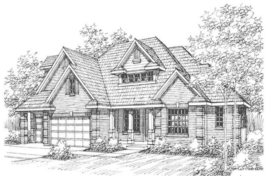 Home Plan Other Image of this 4-Bedroom,2485 Sq Ft Plan -108-1497