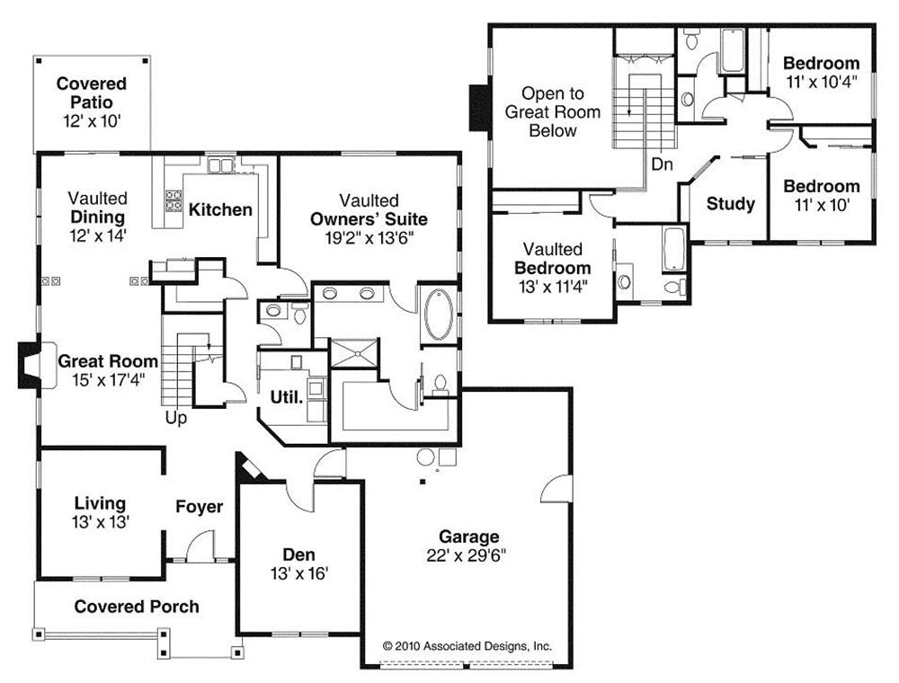 Large Images For House Plan 108 1527