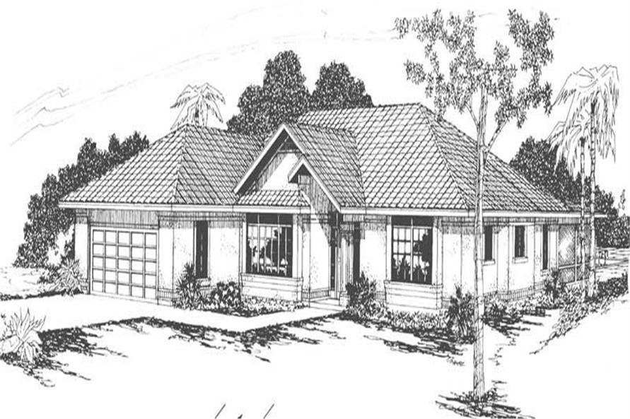 Main image for house plan # 3135