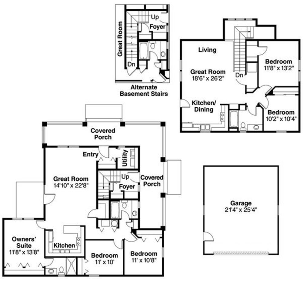108-1543: Floor Plan Main Level