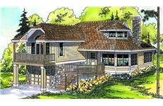 Main image for house plan # 2994
