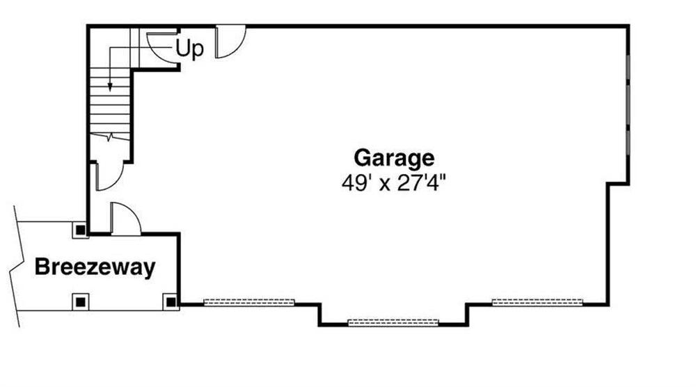 Floor Plan Garage