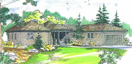 Main image for house plan # 2880