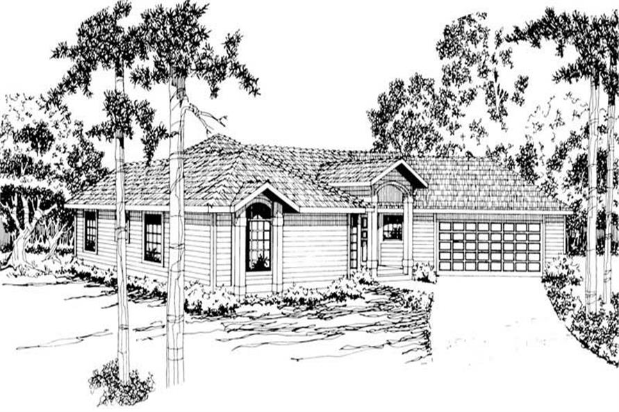 Main image for house plan # 2878
