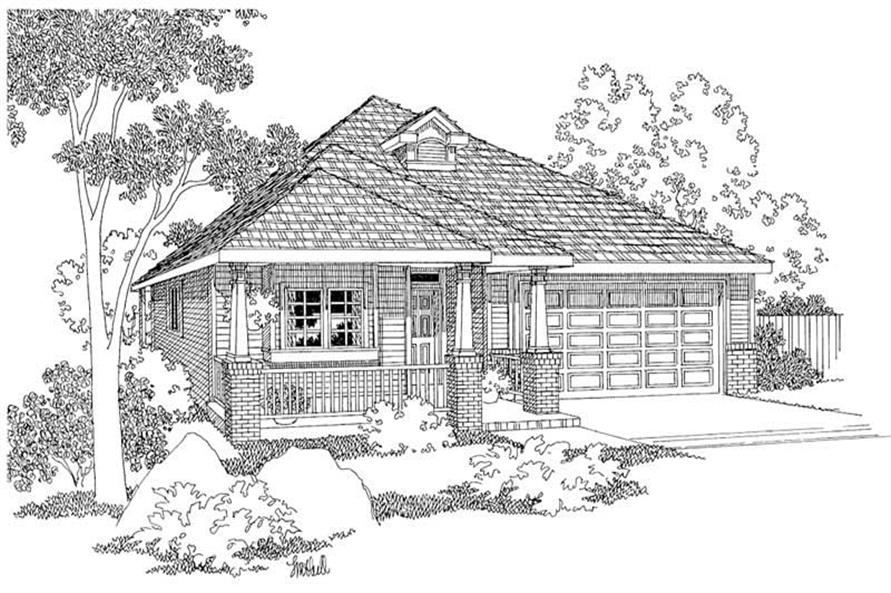 Main image for house plan # 2921