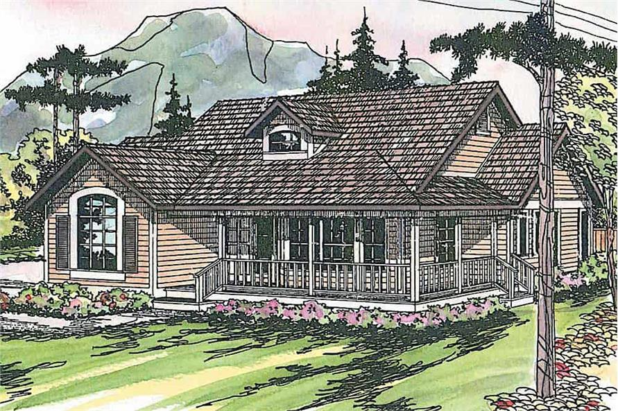 3-Bedroom, 1901 Sq Ft Farmhouse Home - Plan #108-1565 - Main Exterior