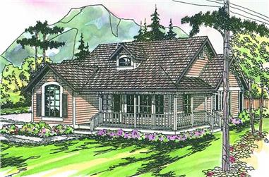 Main image for house plan # 2879