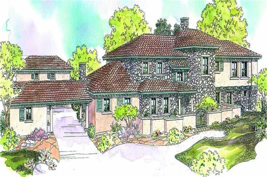 Main image for house plan # 13130