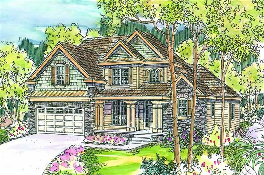 Main image for house plan # 13243