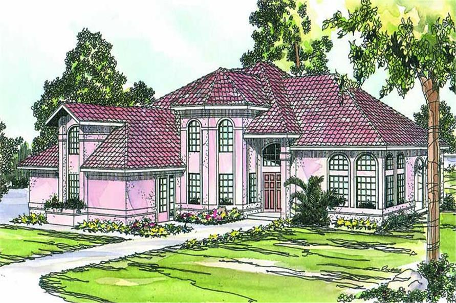 Main image for house plan # 13141