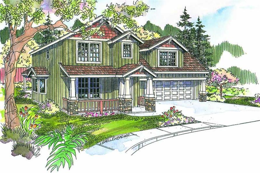Main image for house plan # 13135
