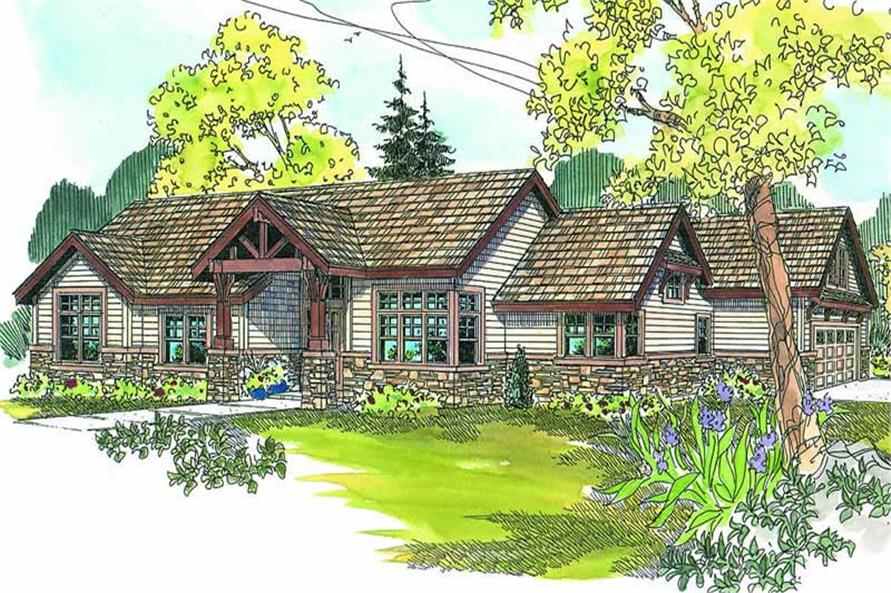 Main image for house plan # 13168