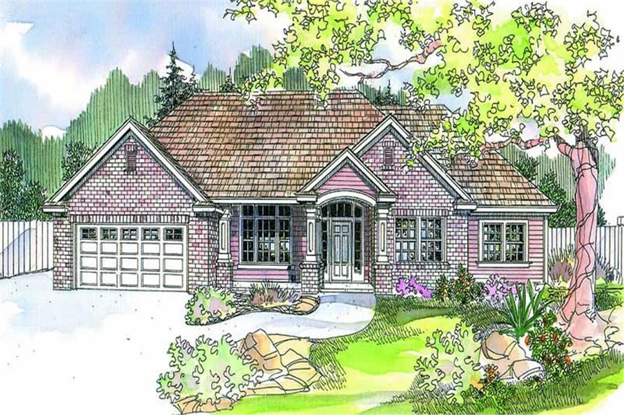 Main image for house plan # 13215