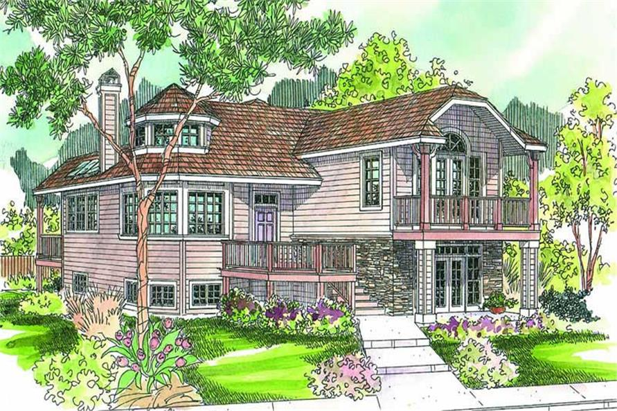 Main image for house plan # 13166