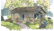 Main image for house plan # 11867
