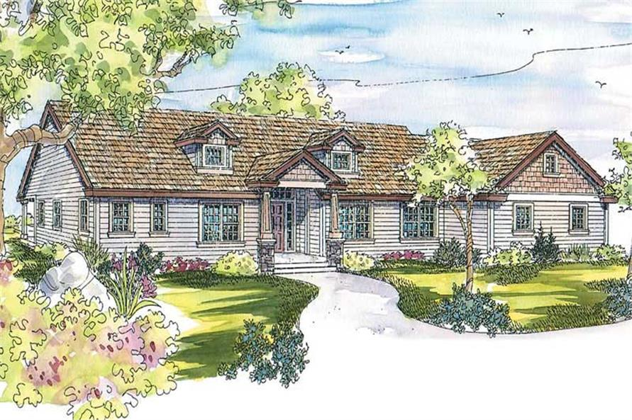Main image for house plan # 11866