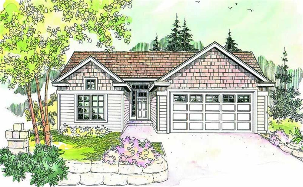 Main image for house plan # 13208